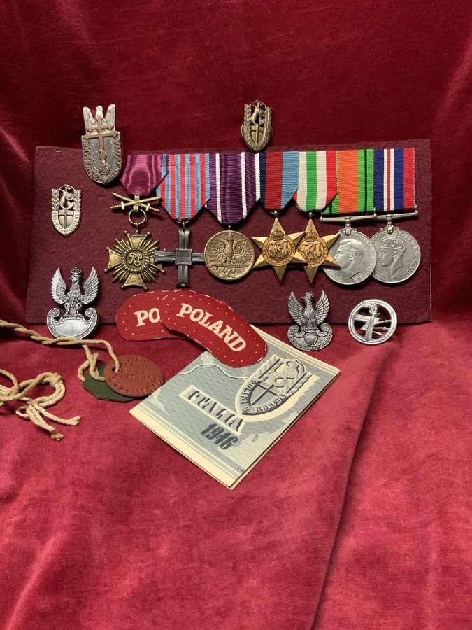Polish Medals, Insignia Etc.