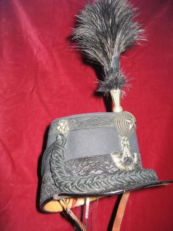 Cameronians (Scottish Rifles) Officer's Victorian Shako & Cap Lines