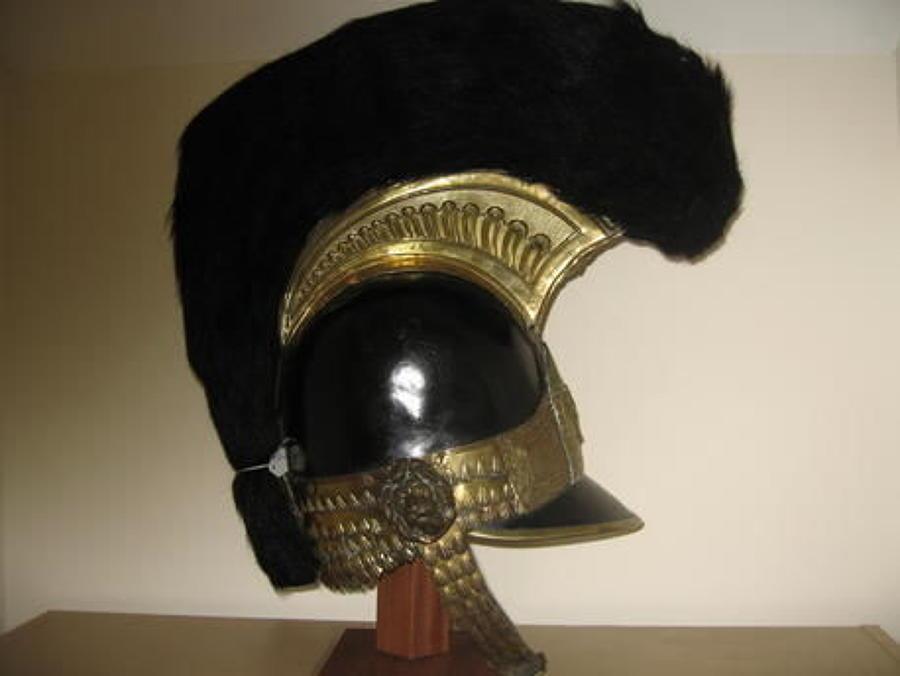 1812 Pattern Officers Helmet of the East Devon Volunteer Cavalry