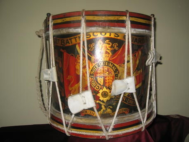 1st Batt Scots Guards Drum, Battle Honours upto South Africa 1899-1902