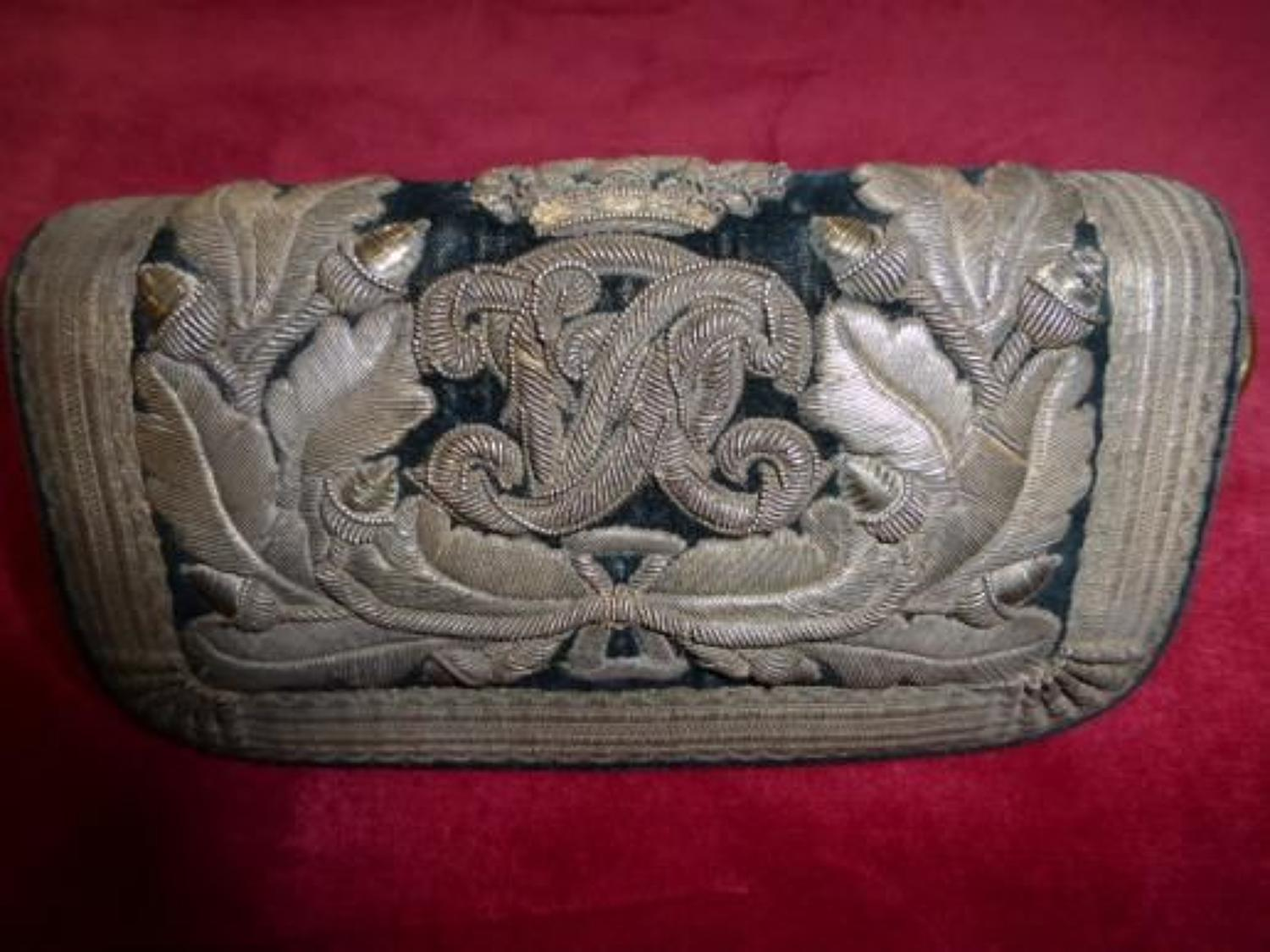 Cavalry Officers Full Dress Bullion Pouch.