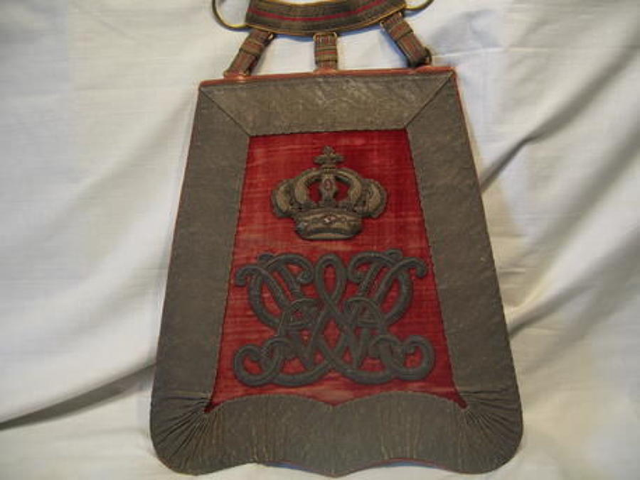 Surrey Yeomanry 1831-1838 Officers Full Dress Sabretache