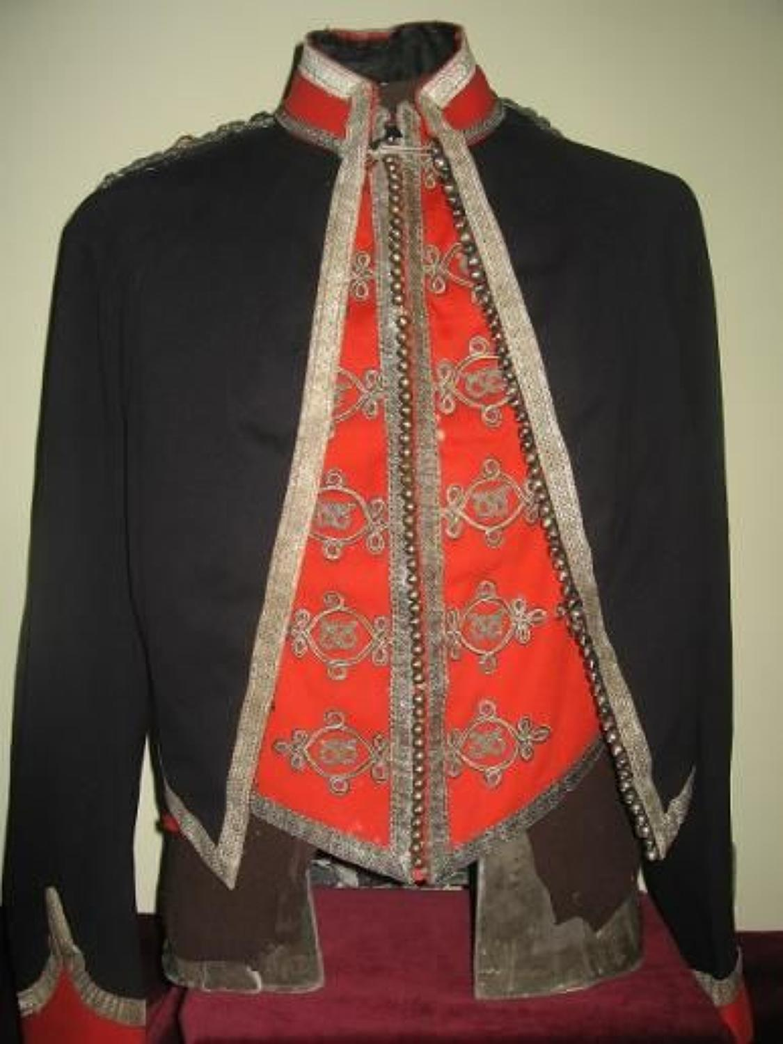 Staffordshire Yeomanry, Victorian 1st Pattern Officers Mess Jacket & Waistcoat.