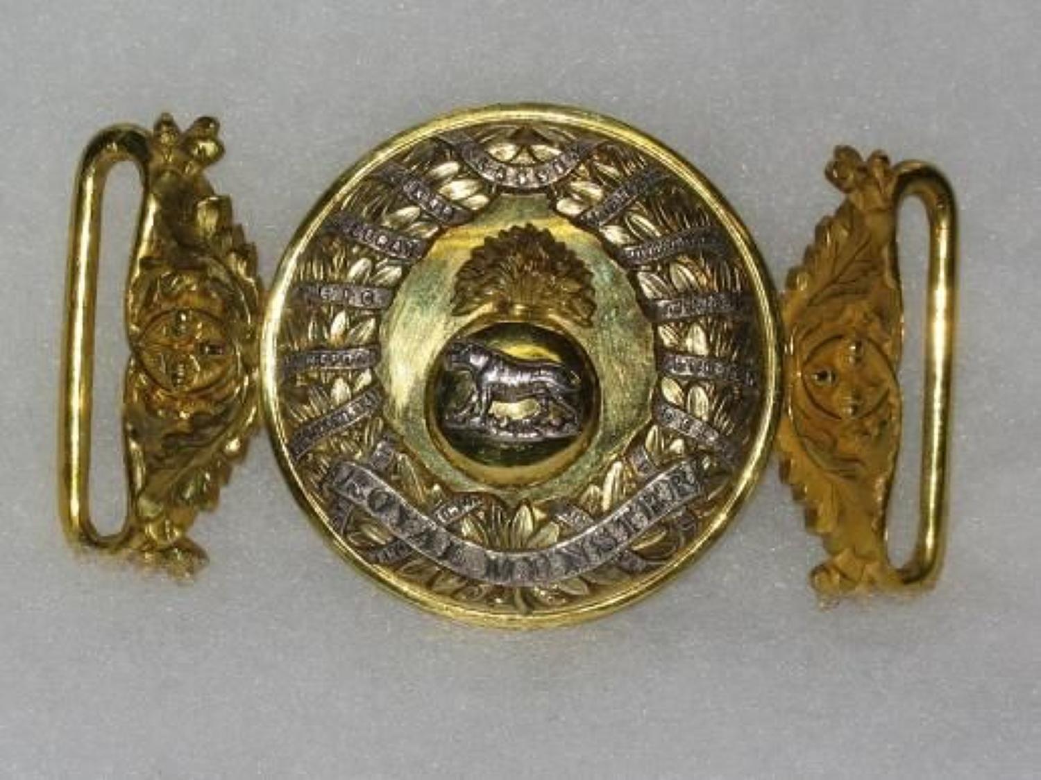 Royal Munster Fusiliers Special Pattern Waist Belt Clasp.