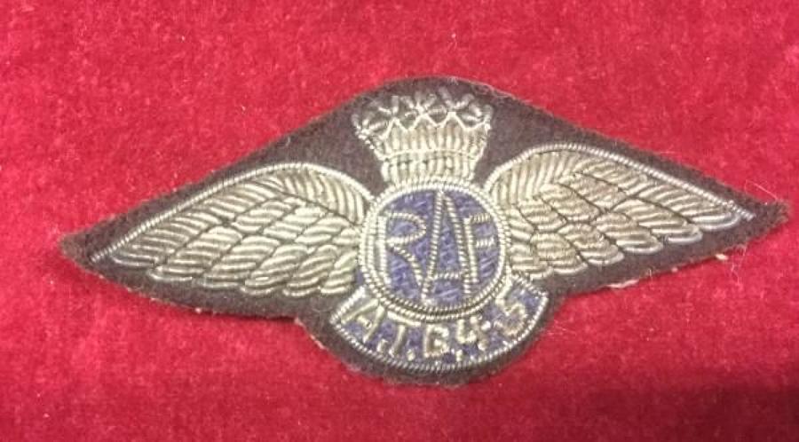 WW2 RAF 45 Atlantic Transport Group  Full Wing