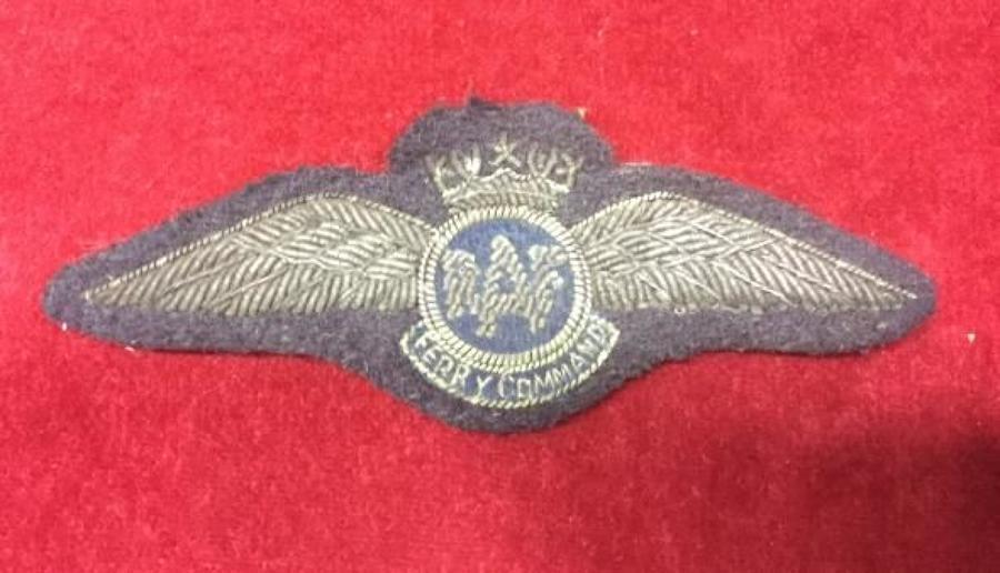 WW2 RAF Ferry Command Full Wing