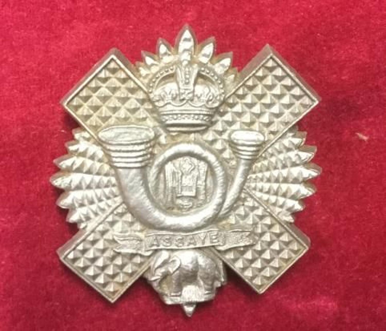 Highland Light Infantry Plastic Cap Badge