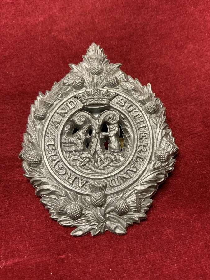 Argyll and Sutherland Highlanders Plastic Cap Badge