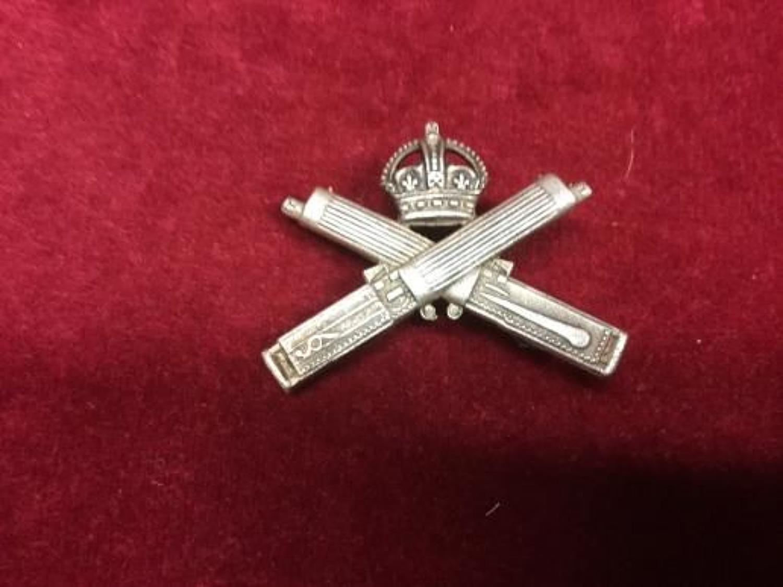 Machine Gun Corps Hallmarked Officers Badge