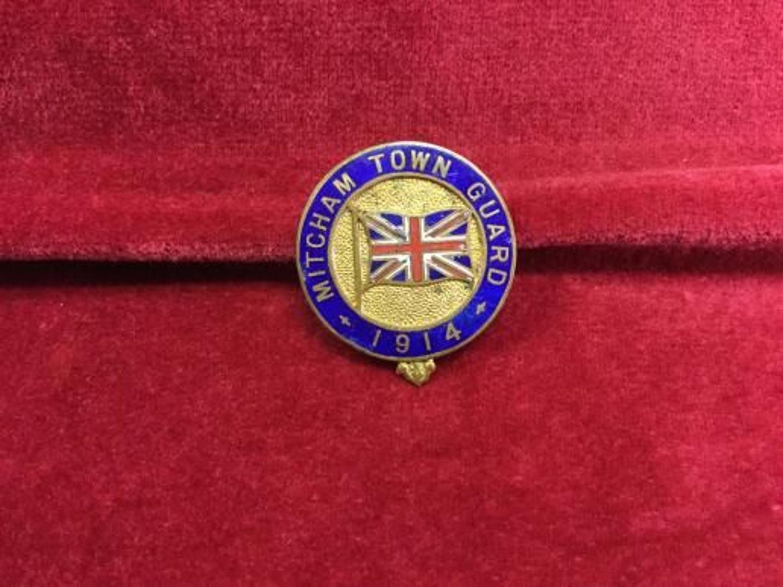 Mitcham Town Guard '1914'  insignia