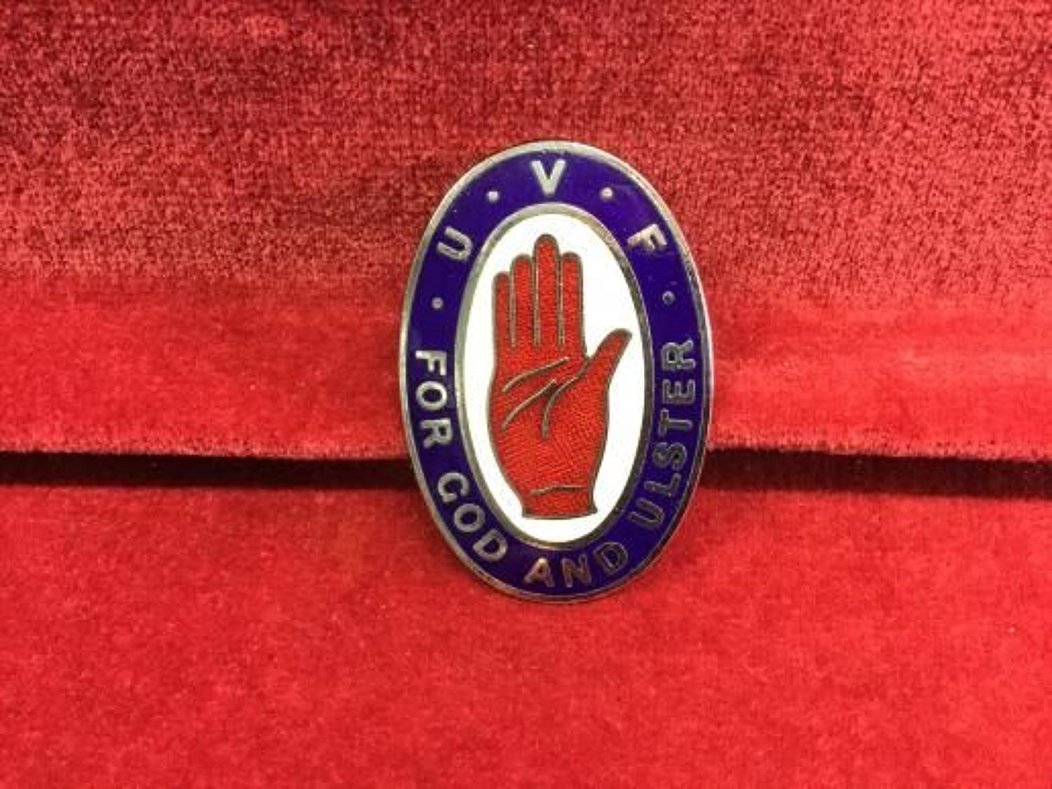 Ulster Volunteer Force Cap? Insignia