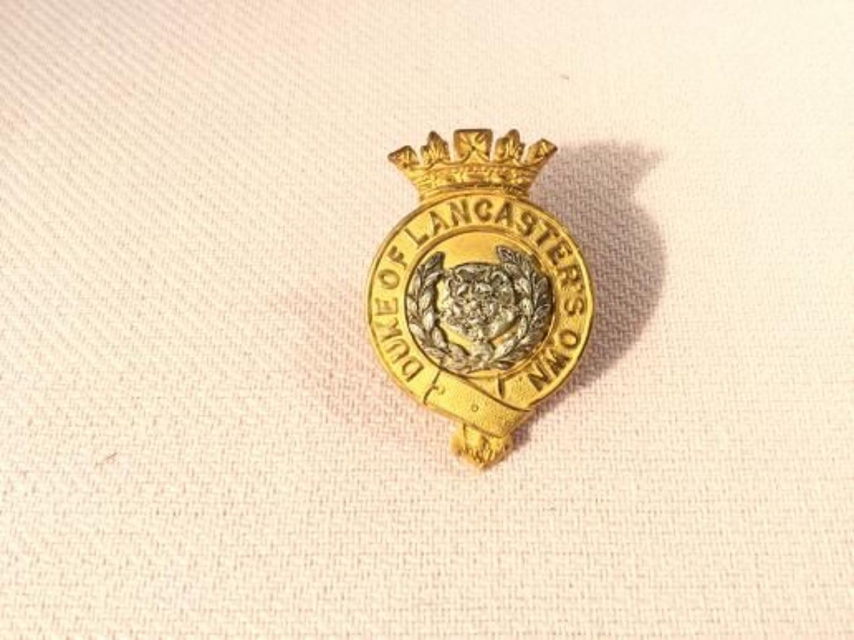 Duke of Lancaster's Own Yeomanry Officers Cap Insignia.