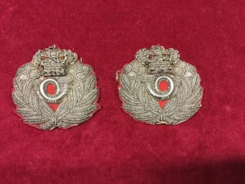 West Kent Militia Coatee Tail Ornaments