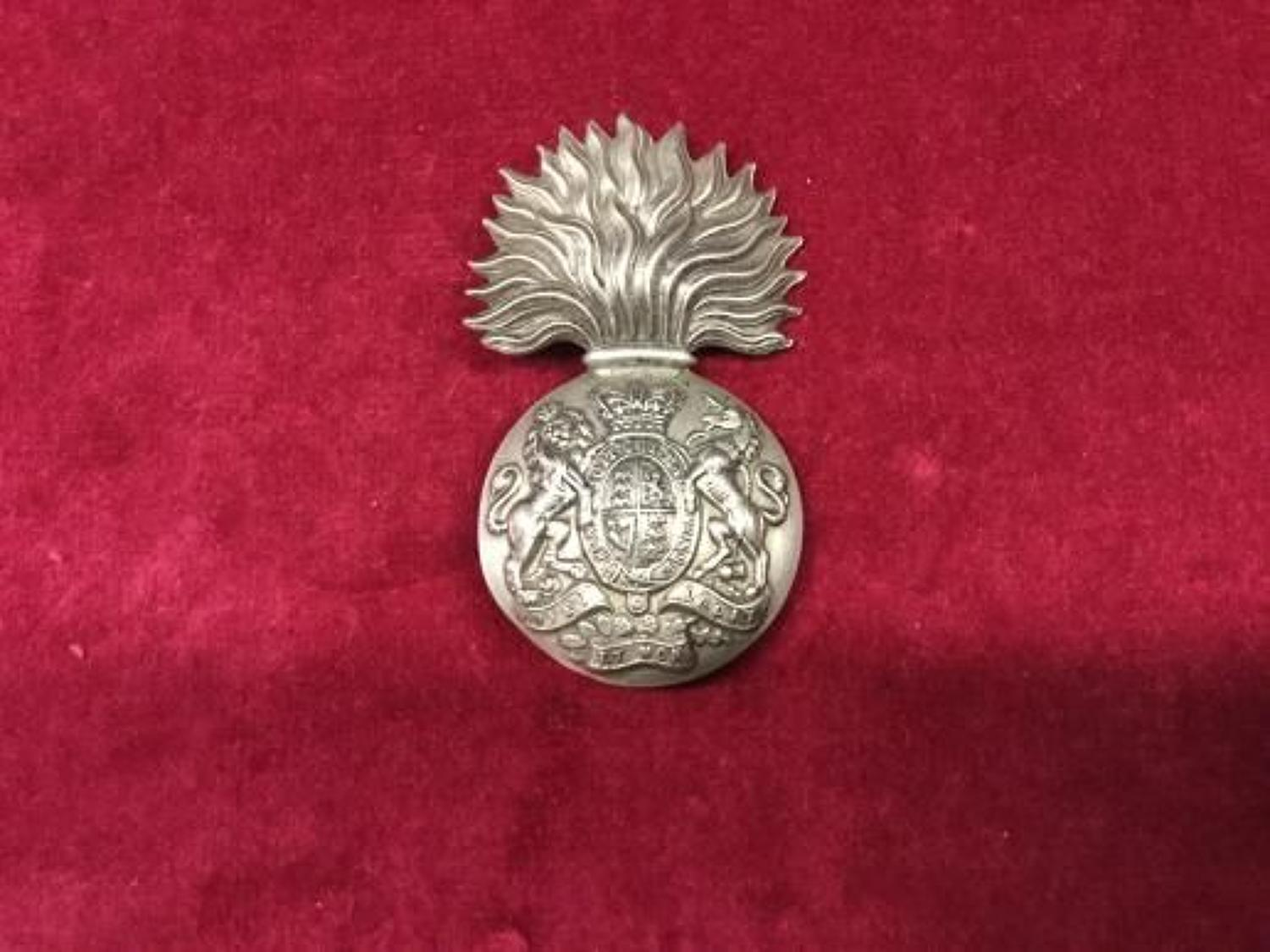 Royal Scots Fusiliers QVC Volunteer Bn OR's  Glengarry Badge