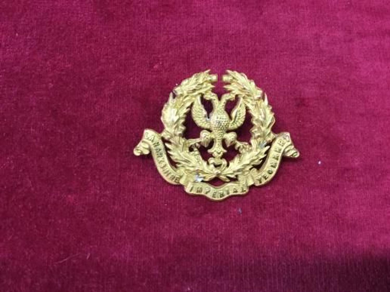 Lanarkshire Imperial Yeomanry Cap Insignia