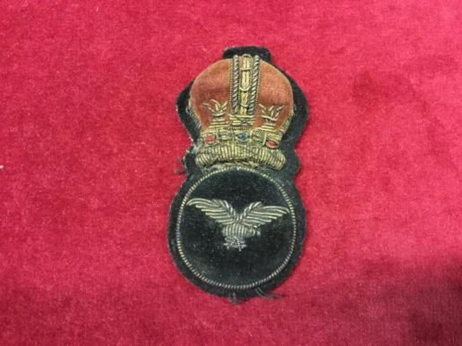 Royal Air Force 1918  Cap Insignia