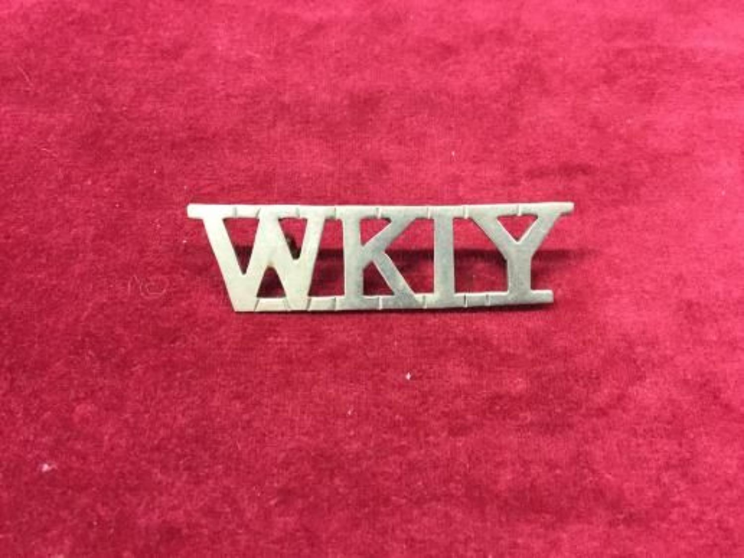 West Kent Imperial Yeomanry Shoulder Title