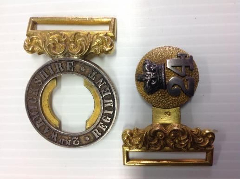 2nd Warwickshire Regiment 24th Regt of Foot Waist Belt Clasp