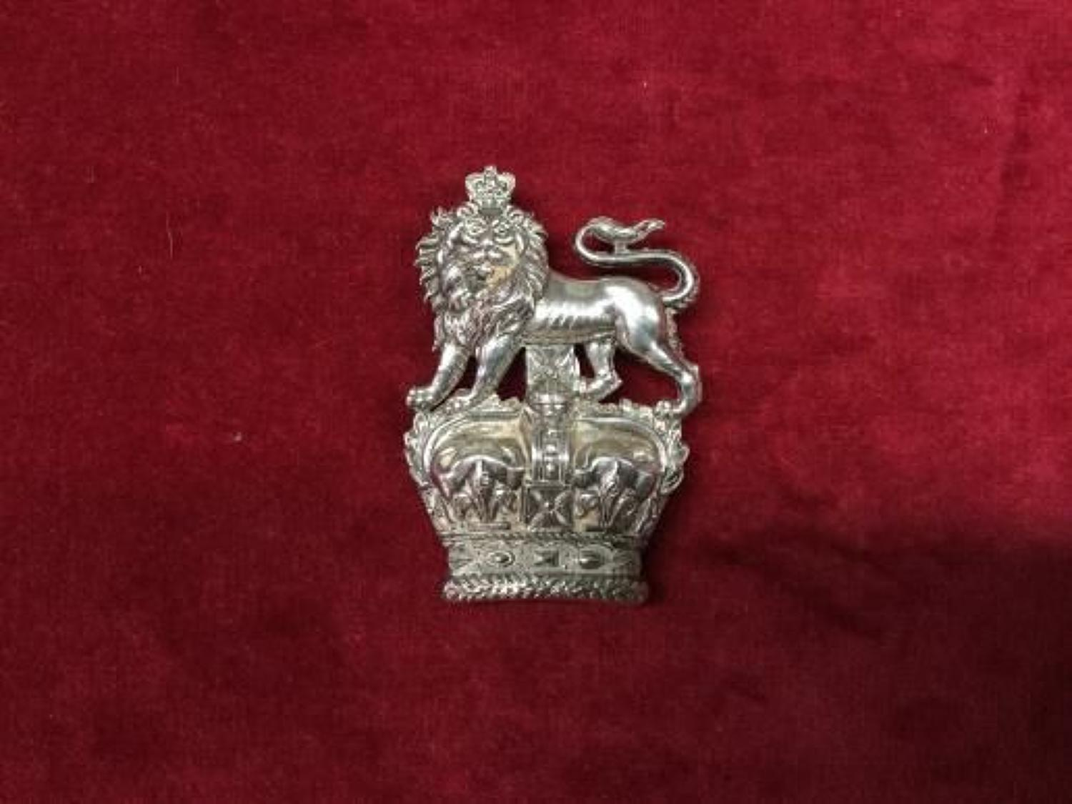 KIngs Dragoons Guards Hallmarked Arm Badge