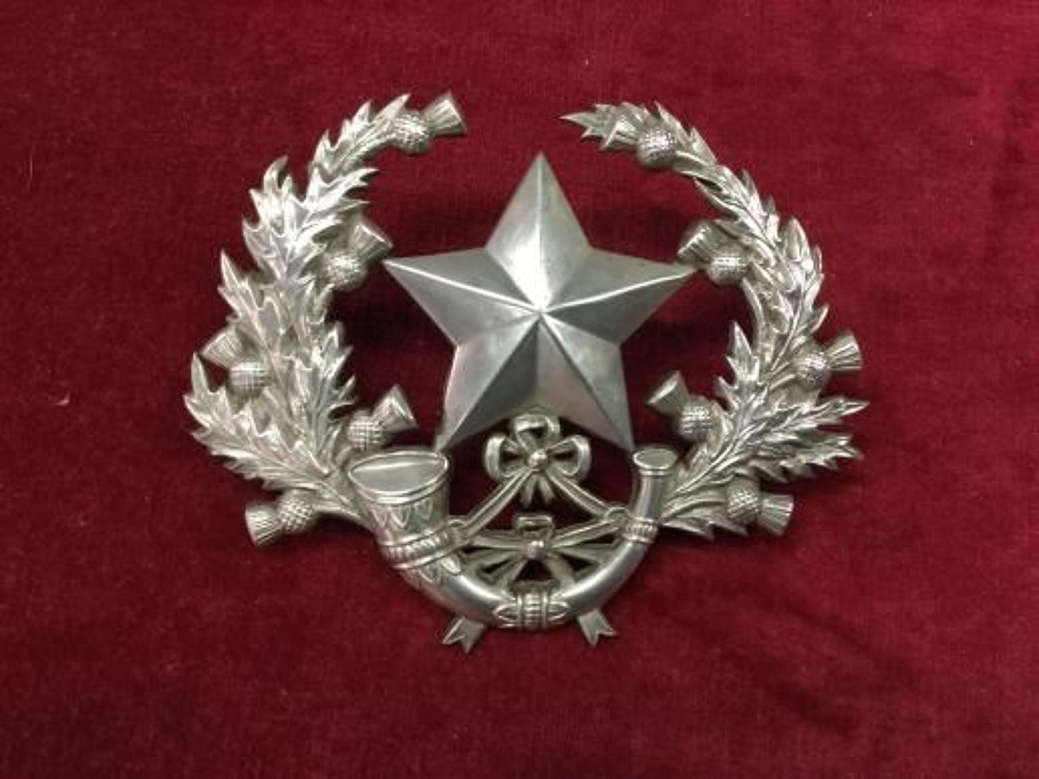 Hallmarked Cameronians Badge Insignia