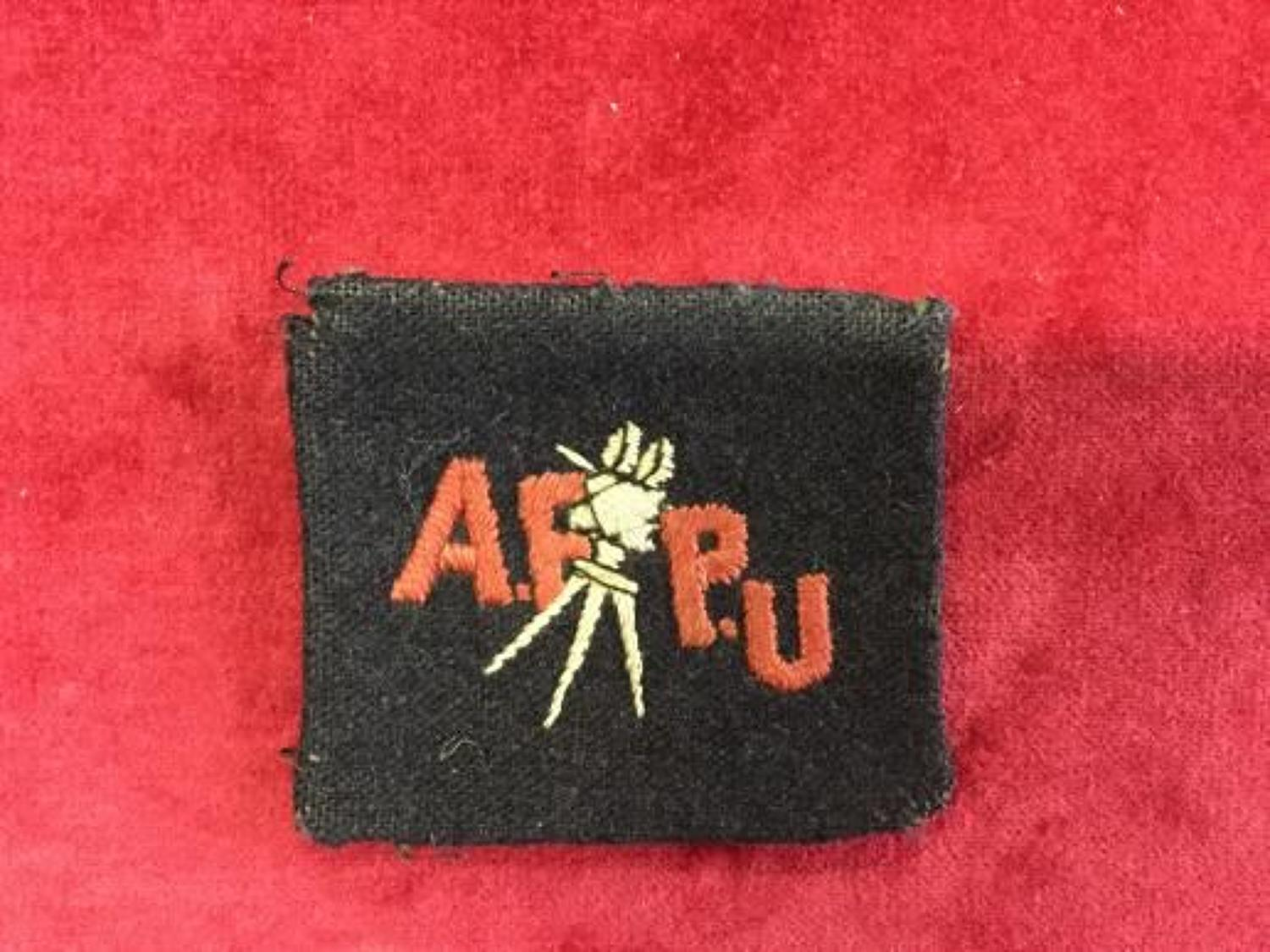 Army Film and Photography Unit
