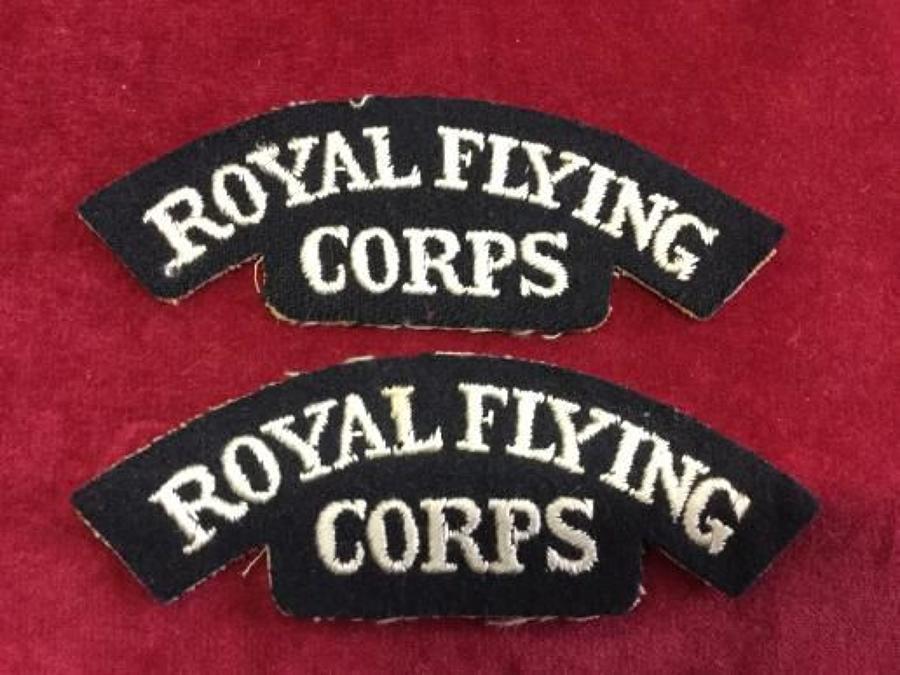 Royal Flying Corps Shoulder Titles