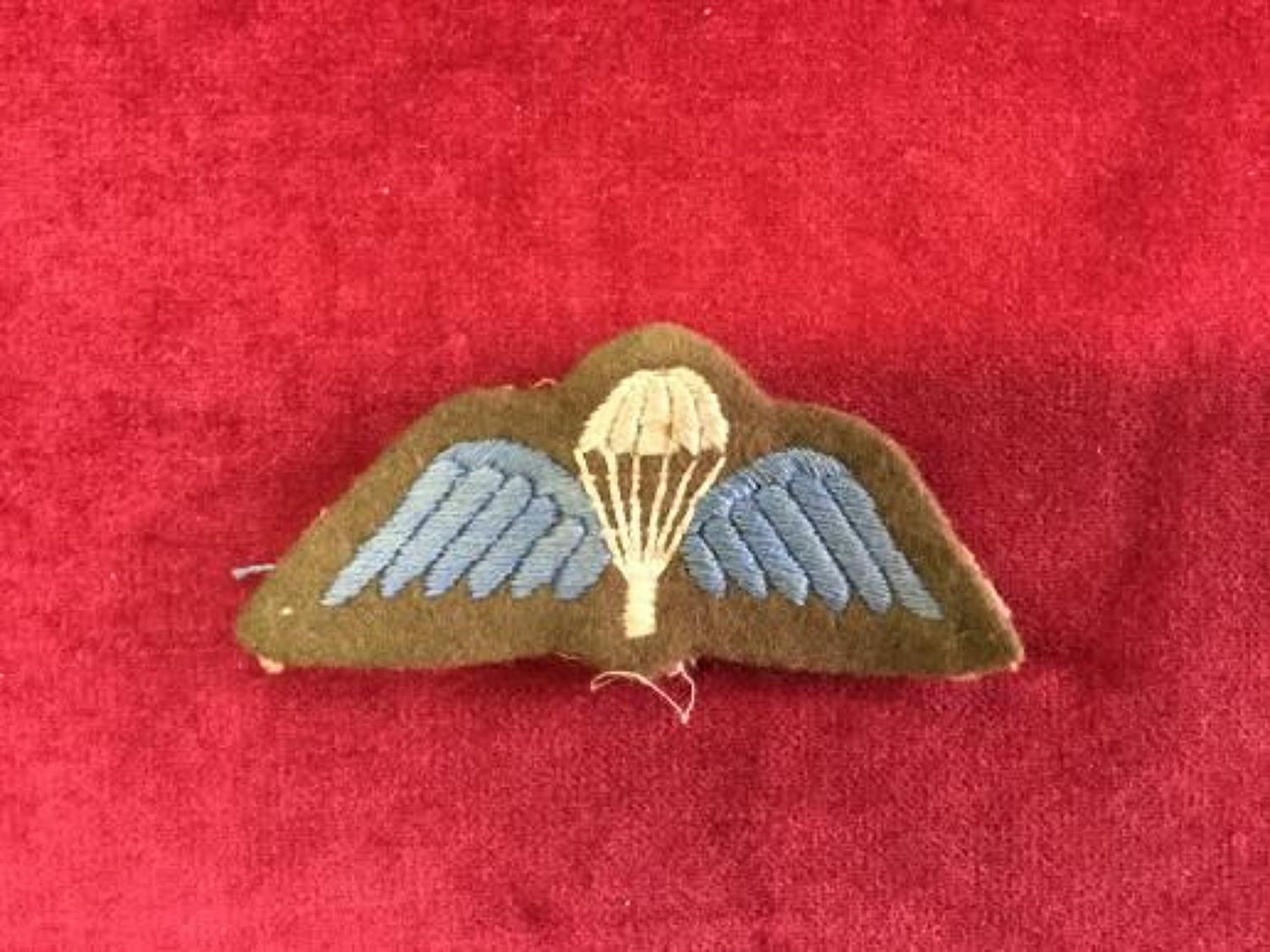Parachute Qualification Wing