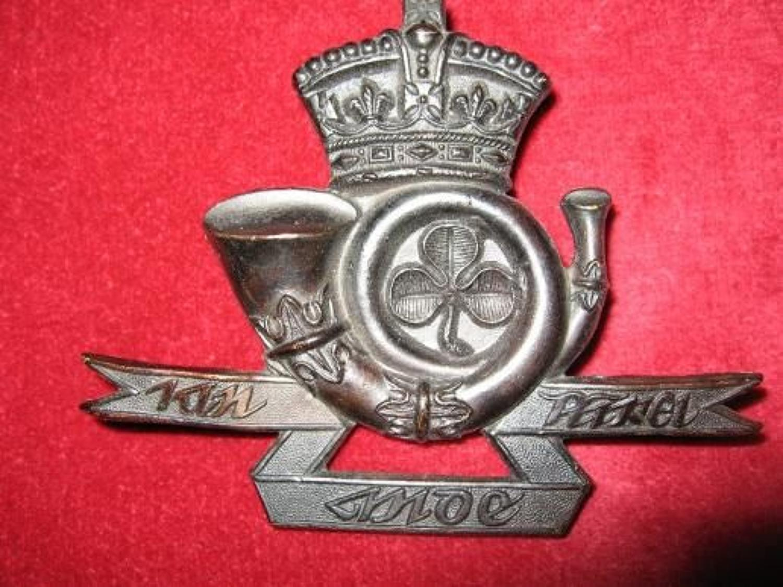 Westmeath Rifles 9th Battalion, Rifle Brigade (Prince Consorts Own) Gl