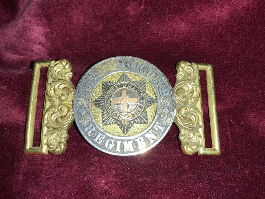 Border Regiment Officers Post 1881 WBC.