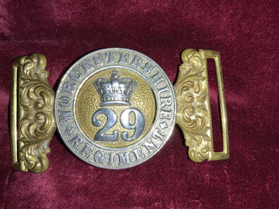 29th Of Foot The Worcestershire Regiment, Officers Pre 1881 WBC.