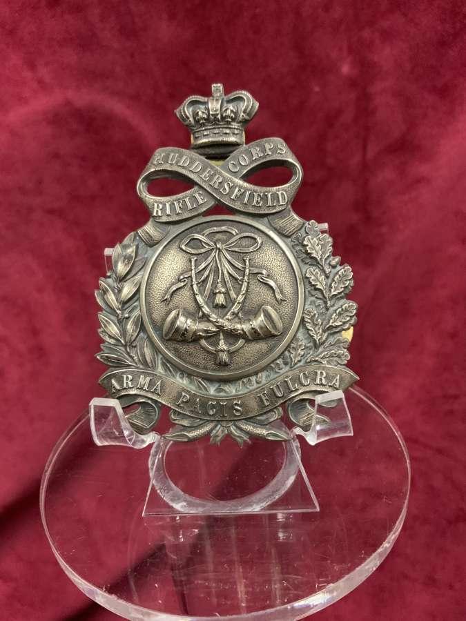 Huddersfield Rifle Corps, Shoulder Belt Plate, 1860's