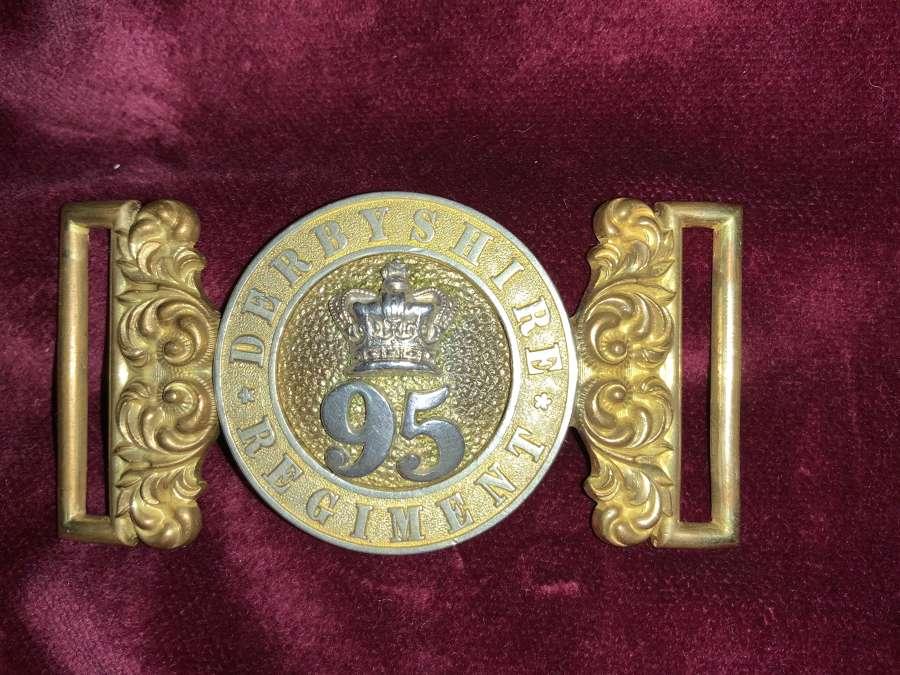 95th Of Foot Derbyshire Regiment