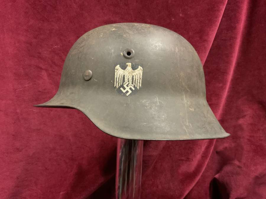 German Model M42, Army (Heer) Steel Helmet.