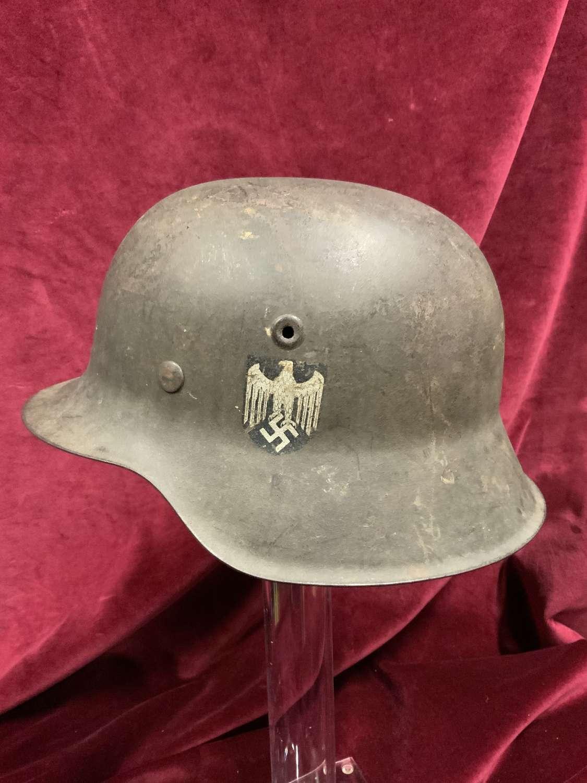 German Model M42, Army (Heer) Steel Helmet.