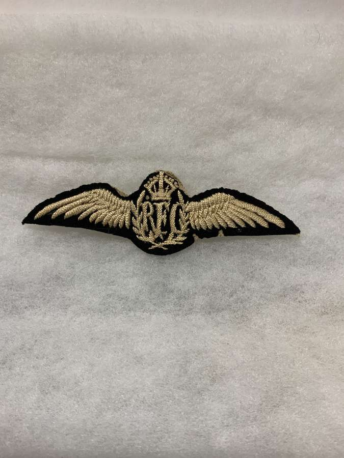 Royal Flying Corps Pilots Wing
