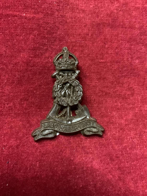 Army Pioneer Corps, Plastic Cap Badge.