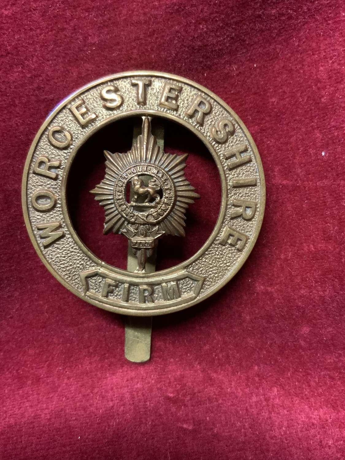 Worcestershire Regiment Puggaree Insignia