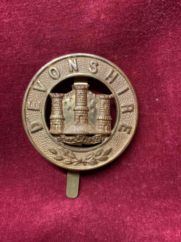 Devonshire Regiment. Other Ranks Puggree