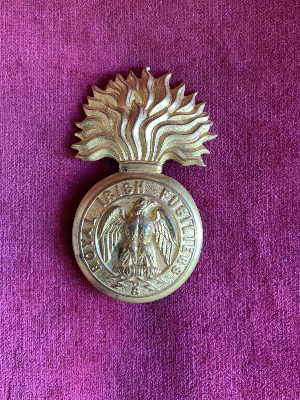 Royal Irish Fusiliers, (Princess Victoria's) Rare Snr NCO's Glengarry