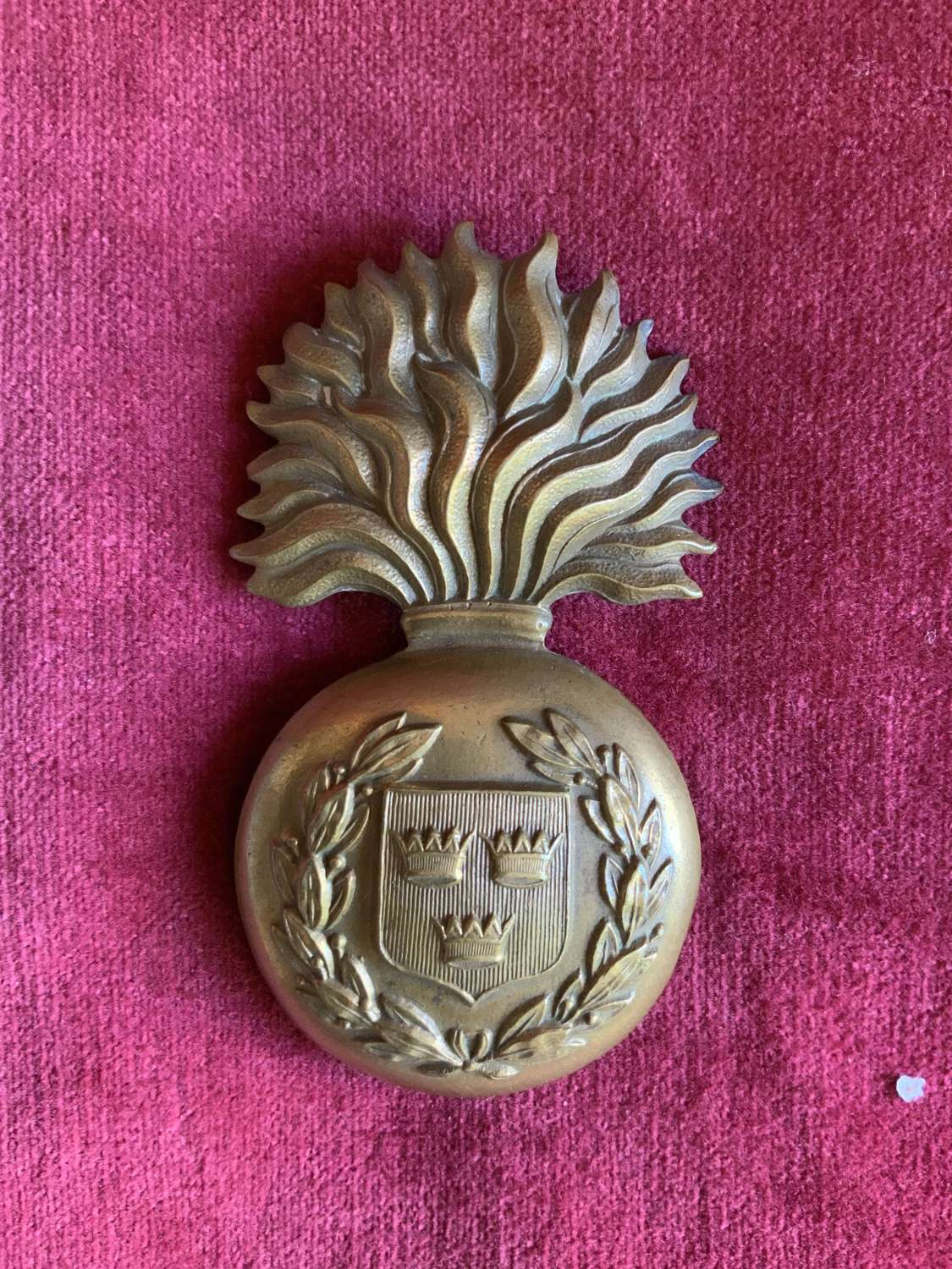 Royal Munster Fusiliers, Or's Glengarry Badge.