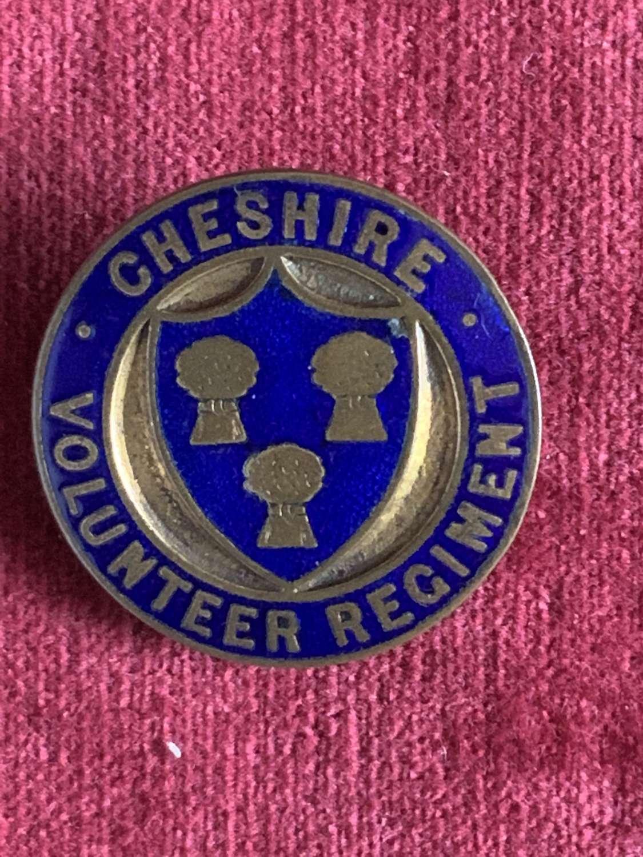 Cheshire Volunteer Regiment, Number 8272.