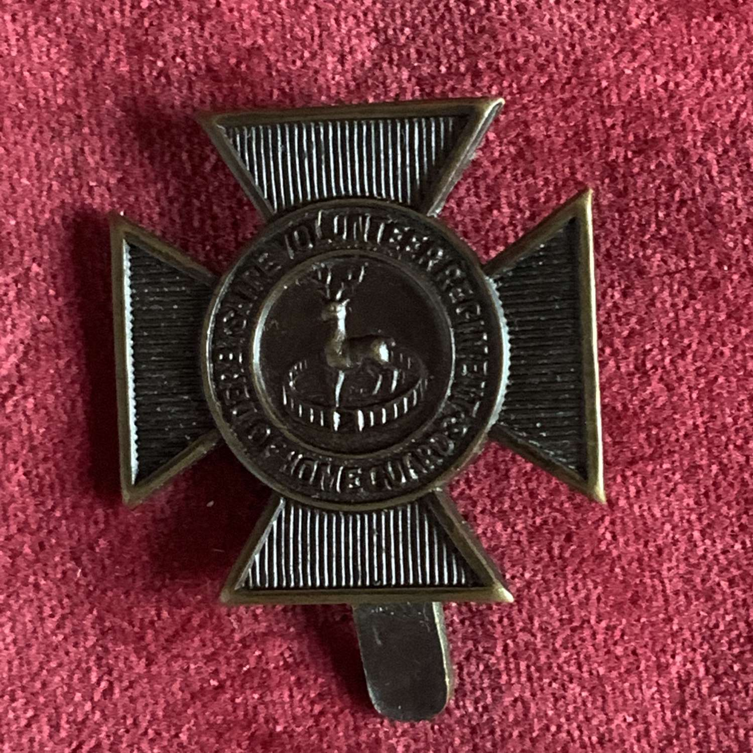 Derbyshire Volunteer Regiment, Home Guard