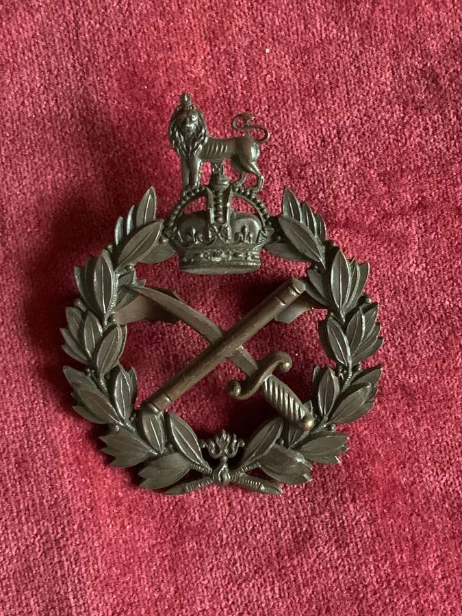 General Officers Service Dress Cap Badge.