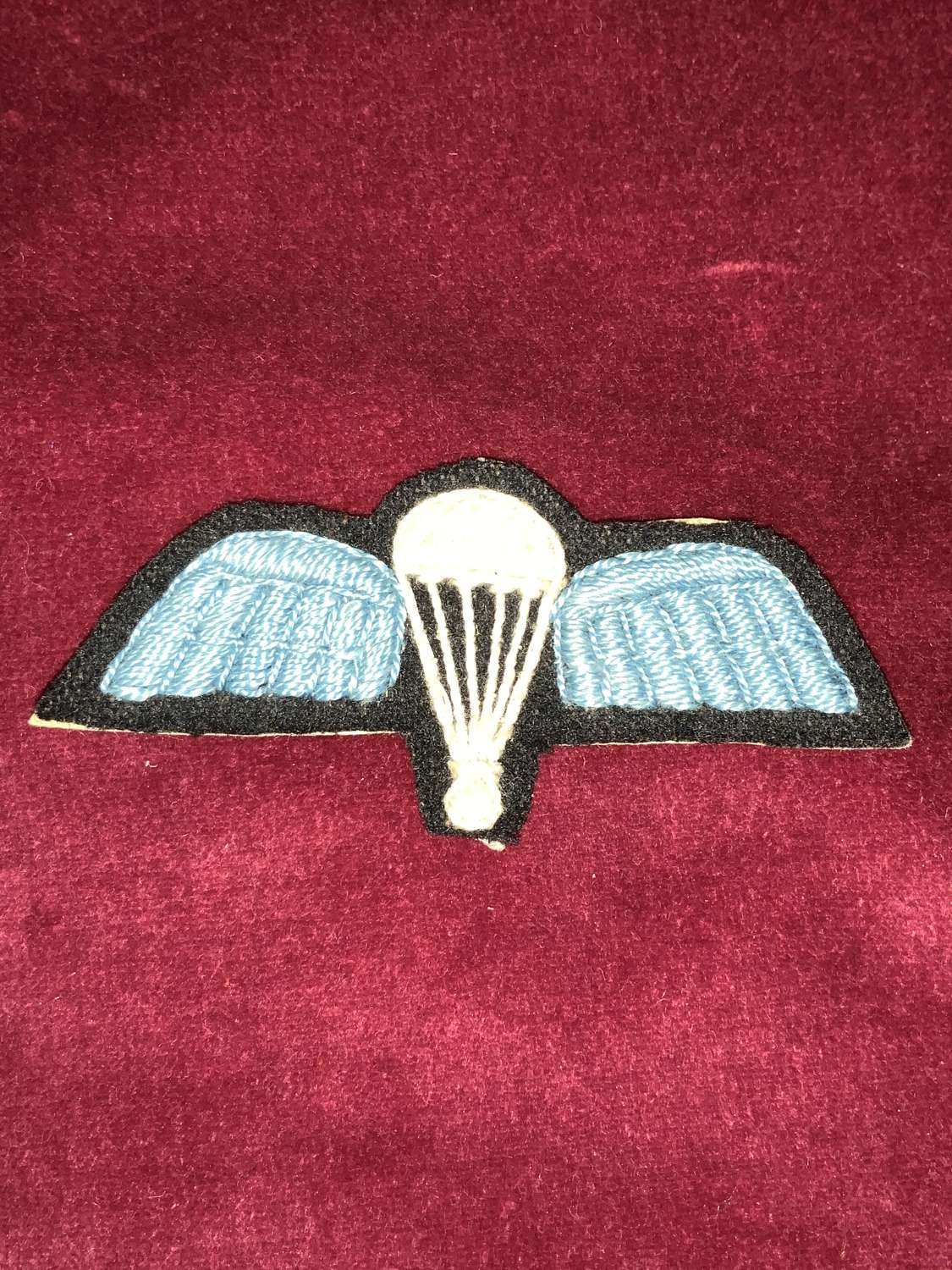 44th Indian made Parachute qualification wing.