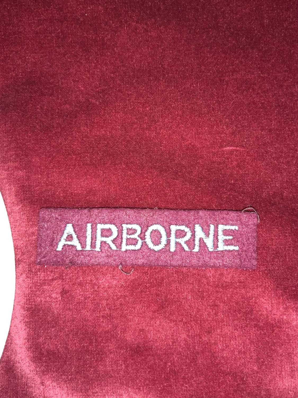 Airborne Shoulder Title