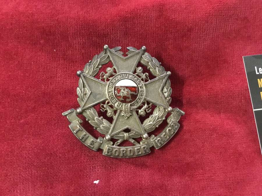Militia Bn Border Regiment Officers Glengarry Badge