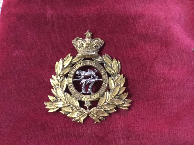 17th Regiment of Foot Last Pattern Shako 1869-1878