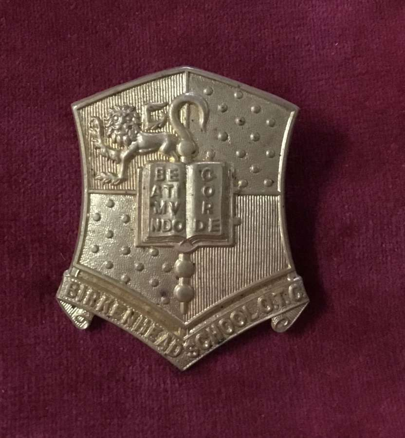 Birkenhead School OTC Cap Badge