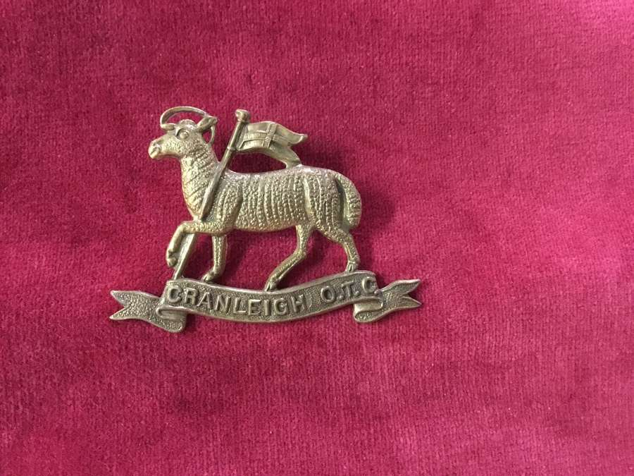 Cranleigh School OTC Cap Badge