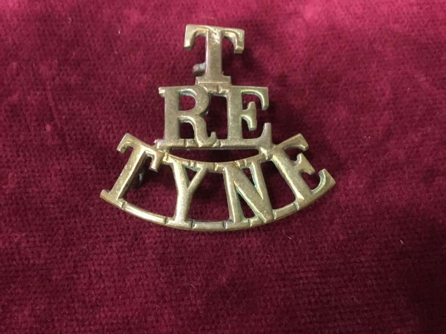 Royal Engineers Tyne Shoulder Title